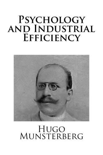 9781490550374: Psychology and Industrial Efficiency