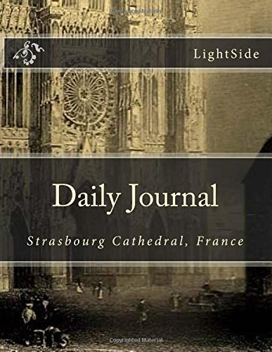 9781490550404: Daily Journal - Strasbourg Cathedral: Blank 365-Day Journal