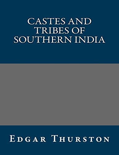 9781490554662: Castes and Tribes of Southern India