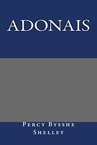 9781490558028: Adonais