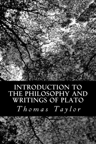 9781490568089: Introduction to the Philosophy and Writings of Plato