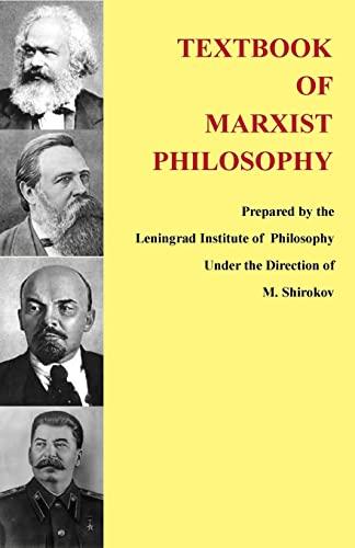 9781490569000: Textbook of Marxist Philosophy