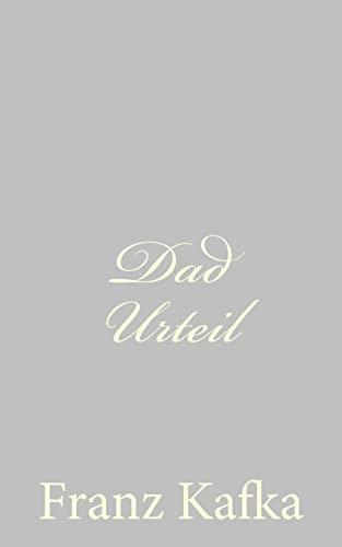 9781490579313: Dad Urteil