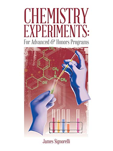 9781490746432: CHEMISTRY EXPERIMENTS: For Advanced & Honors Programs