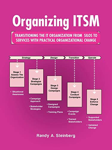 9781490762708: Organizing Itsm: Transitioning The It Organization From Silos To Services With Practical Organizational Change