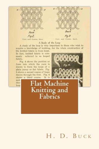 9781490910291: Flat Machine Knitting and Fabrics