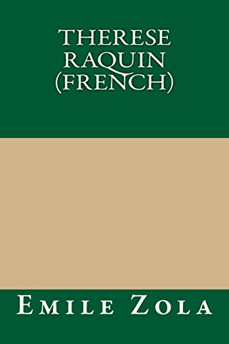 9781490912172: Therese Raquin (French) (French Edition)