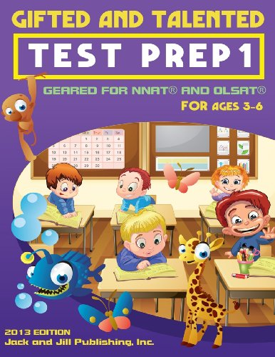 Gifted and Talented Test Prep 1: Geared: Publishing Inc, Jack