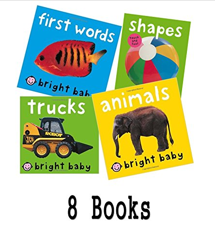 Priddy Collection: Bright Baby First Words; Trucks; Animals; Shapes; My Little Noisy Book of Ducklings - My Little Noisy Book of Kittens - Noisy Trackers - Happy Baby Farm (Book Sets for Toddlers & Babies: Priddy Board Book Set) (1490933115) by Roger Priddy