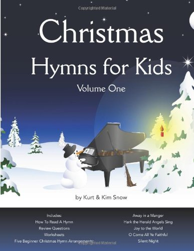 9781490934396: Christmas Hymns for Kids: Volume 1