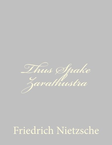 9781490955230: Thus Spake Zarathustra