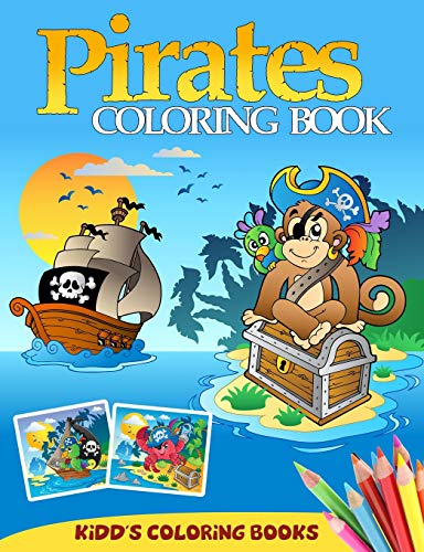 9781490979212: Pirates Coloring Book (Kidd's Coloring Books) (Volume 1)