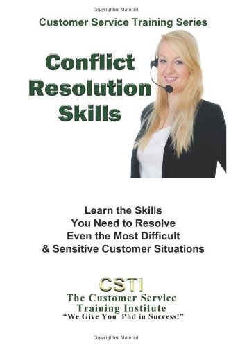 9781490988320: Conflict Resolution Skills (Customer Service Training Series)