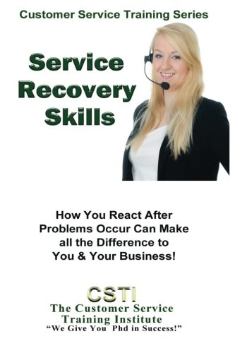 9781490988702: Service Recovery Skills (Customer Service Training Series)
