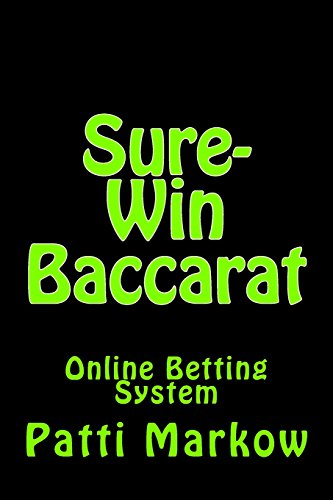9781490990934: Sure-Win Baccarat: Online Betting System