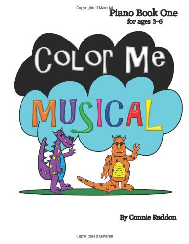9781491000625: Color Me Musical Piano Book 1