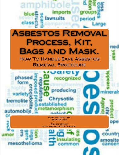 9781491012123: Asbestos Removal Process, Kit, Bags and Mask.