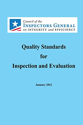 9781491030721: Quality Standards for Inspection and Evaluation