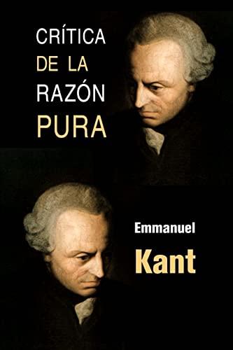 9781491050569: Crítica de la razón pura (Spanish Edition)