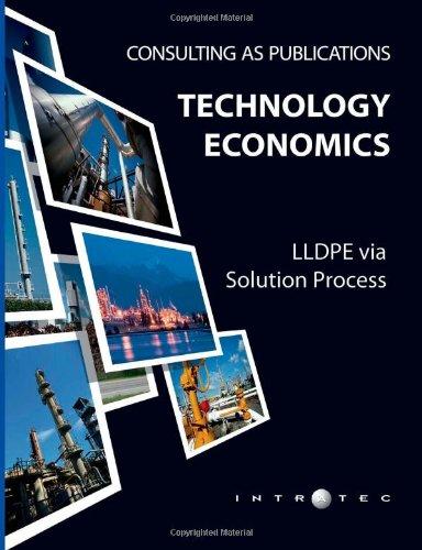 9781491090435: Technology Economics: LLDPE via Solution Process