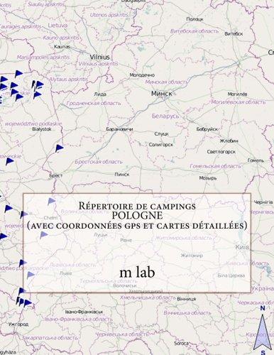 9781491092774: Répertoire de campings POLOGNE (avec coordonnées gps et cartes détaillées)