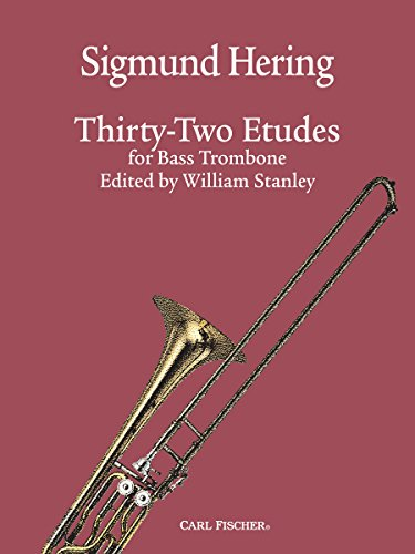 9781491144817: 32 Etudes for Bass Trombone