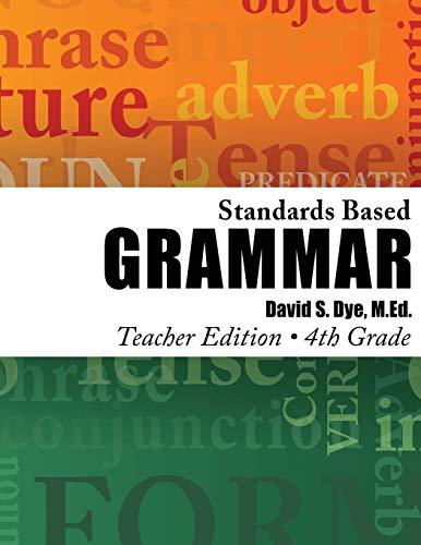 9781491210383: Standards Based Grammar: Grade 4: Teacher's Edition