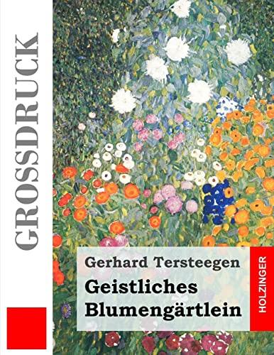 9781491264362: Geistliches Blumengärtlein (Großdruck)