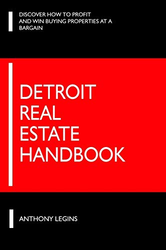 9781491266205: The Detroit Real Estate Handbook: Everything You Need To Know Before Investing In Detroit Real Estate!