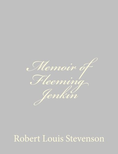 9781491266694: Memoir of Fleeming Jenkin