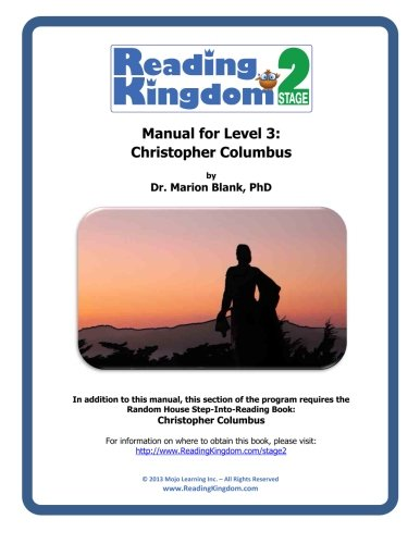 9781491293416: Reading Kingdom Stage 2 - Level 3 - Manual For Christopher Columbus