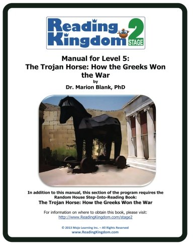 9781491293607: Reading Kingdom Stage 2 - Level 5 - Manual For The Trojan Horse