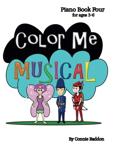 9781491297858: Color Me Musical Piano Book Four