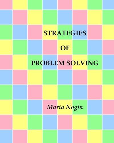 9781491298428: Strategies of Problem Solving