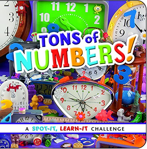 9781491418970: Tons of Numbers!: A Spot-It, Learn-It Challenge
