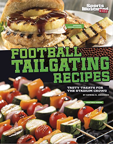 9781491421376: Football Tailgating Recipes: Tasty Treats for the Stadium Crowd (Football Cookbooks)