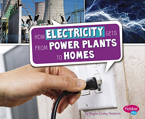How Electricity Gets from Power Plants to Homes (Here to There): Peterson, Megan Cooley