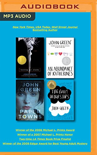 9781491510629: John Green Audiobook Collection on MP3-CD: Looking for Alaska, An Abundance of Katherines, Paper Towns, The Fault in Our Stars
