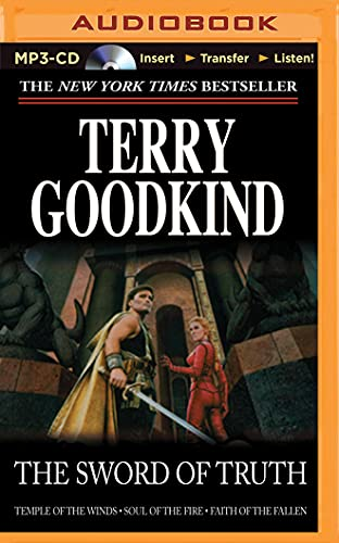 9781491518397: The Sword of Truth, Boxed Set II, Books 4-6: Temple of the Winds, Soul of the Fire, Faith of the Fallen