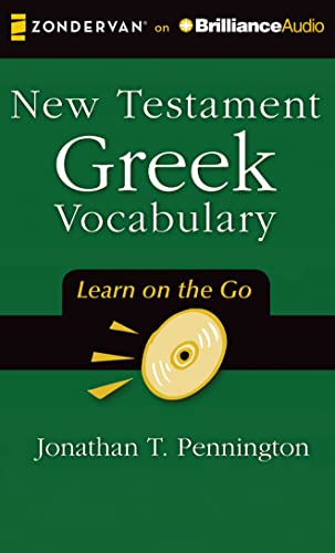 9781491521328: New Testament Greek Vocabulary (Learn on the Go)