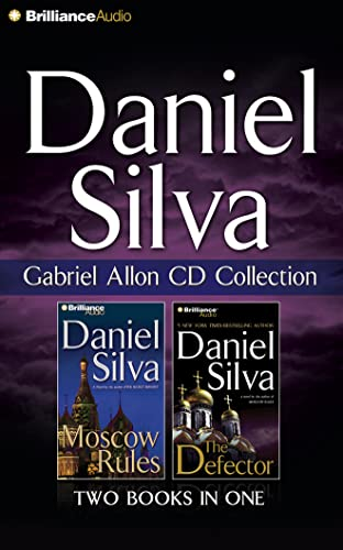 9781491542040: Gabriel Allon CD Collection: Moscow Rules / The Defector