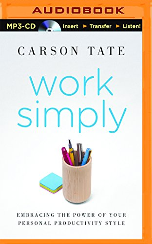 9781491552070: Work Simply: Embracing the Power of Your Personal Productivity Style