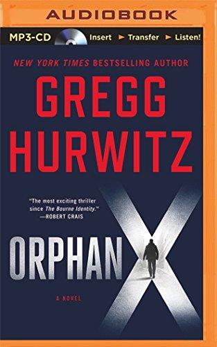 Orphan X (CD/Spoken Word): Hurwitz, Gregg/ Brick,