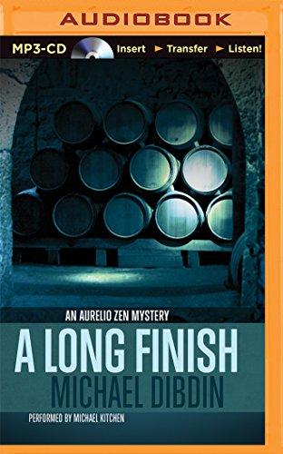 A Long Finish (An Aurelio Zen Mystery): Michael Dibdin