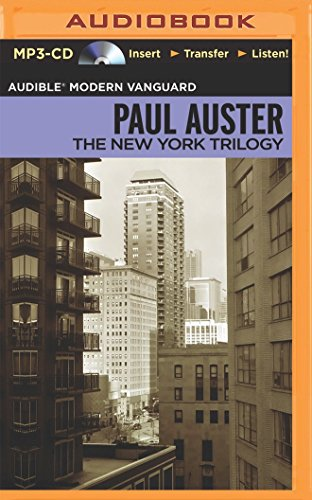 The New York Trilogy (Audible Modern Vanguard): Auster, Paul