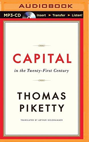 Capital in the Twenty-First Century: Professor Thomas Piketty