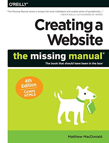 9781491918074: Creating a Website: The Missing Manual