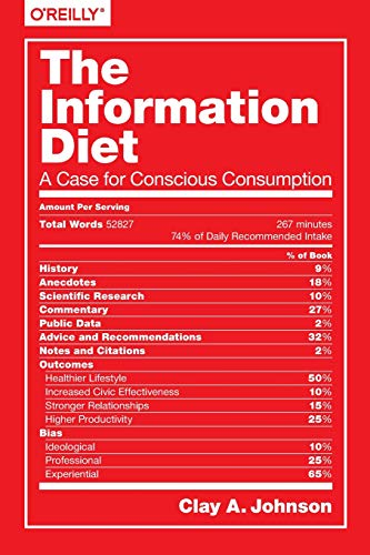 9781491933398: The Information Diet: A Case for Conscious Comsumption