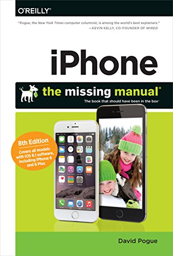 9781491947142: iPhone: The Missing Manual