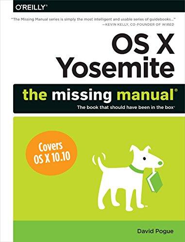 9781491947166: OS X Yosemite: The Missing Manual